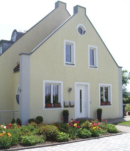 Fassade Gelb malermeister eickhoff